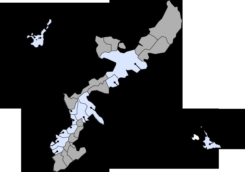 支援施設状況地図